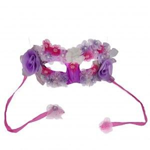 אבגד מסכה בשילוב אלמנטים של פרחים צבעוניים   טווח מחירי חומרי הגלם 20שח-98שח צילום צביקה טיומקין